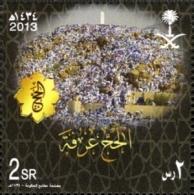 SAUDI ARABIA, 2013, A NICE  FRESH COLORS SET IN MINI SHEET OF 4 STAMP HAJJ - Arabie Saoudite