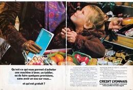 Pub.1971  Crédit Lyonnais Banque  6 Pages TBE - Publicités
