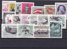 Österreich, Kpl. Jahrgang 1963, Gest. (T 9043) - Ganze Jahrgänge