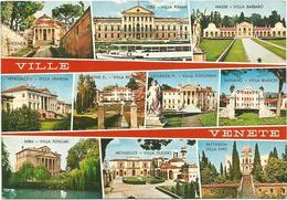 V3306 Ville Venete - Panorama Vedute Multipla - Maser Stra Venegazzù Zenone Noventa Padovana Bassano / Viaggiata 1975 - Italia