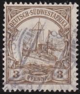 Deutsch  SudWest-Afrika    .     Michel  24      .       O     .      Gebraucht - Colony: German South West Africa