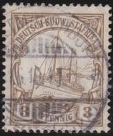 Deutsch  SudWest-Afrika    .     Michel  24      .       O     .      Gebraucht - Kolonie: Deutsch-Südwestafrika