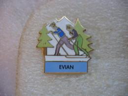 Pin's Ski De Fond à EVIAN - Winter Sports