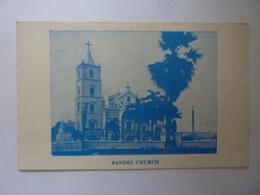 "Catolina ""BANDEL CHURCH  Hoogly P.O. West Bengal"" Anni '60 - India"