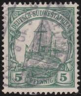 Deutsch  SudWest-Afrika    .     Michel  25      .       O     .      Gebraucht - Kolonie: Deutsch-Südwestafrika