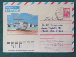 Russia USSR 1989 Stationery Cover To Holland - Plane - 1923-1991 URSS