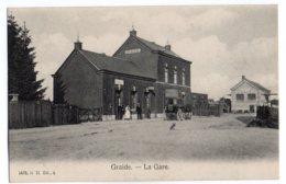 Graide La Gare Station, Avec Malle Poste (env Bievre) - Bièvre