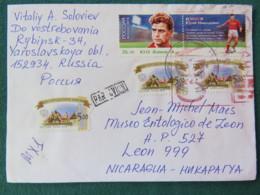 Russia 2017 Cover To Nicaragua - Football Soccer - 1992-.... Fédération