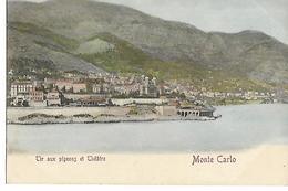 MONTE CARLO  TIR AUX PIGEONS ET THEATRE (VOYAGE 1903  ) - Monte-Carlo