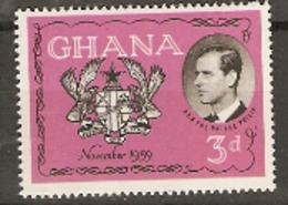 Ghana   1958  SG  233  Duke Of Edinburg Visit    Unmounted Mint - Ghana (1957-...)