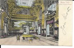 MONTE CARLO  LE CASINO  LA SALLE TOUZET   (VOYAGE 1903  ) - Monte-Carlo