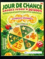 FDJ - FRANCAISE DES JEUX - JOUR DE CHANCE 50801 SPECIMEN - Billets De Loterie