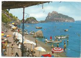 V3313 Ischia (Napoli) - Spiaggia Di Cartaromana - Panorama / Viaggiata 1972 - Italia