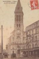 SAINT-OUEN - L'Eglise Vue De La Rue Garibaldi - Saint Ouen
