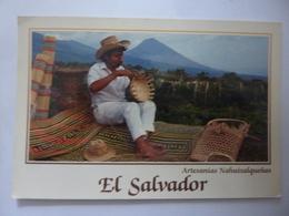 """Catolina Viaggiata """"EL SALVSADOR Artesanias Nahuizalquens"""" 1996 - Salvador"""