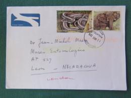 South Africa 2016 Cover To Nicaragua - Animals Snake Elephant - Afrique Du Sud (1961-...)