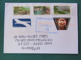 South Africa 2017 Cover To Nicaragua - Landscapes - Afrique Du Sud (1961-...)