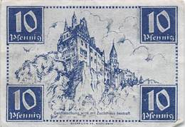 PIE-VPT-18-090 :  BILLET ALLEMAND 10 PFENNIG - 1945-1949: Alliierte Besatzung