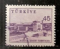 TURQUIE  N°  1436 B  OBLITERE - 1921-... République