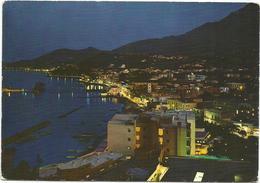 V3323 Isola D'Ischia (Napoli) - Lacco Ameno - Panorama Notturno Notte Nuit Night Nacht Noche / Viaggiata 1967 - Italia