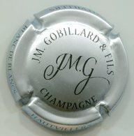 CAPSULE-CHAMPAGNE GOBILLARD J.M. N°26 Argent & Noir - Champagne