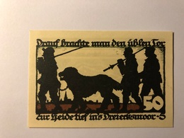 Allemagne Notgeld Vechiae 50 Pfennig - [ 3] 1918-1933 : République De Weimar