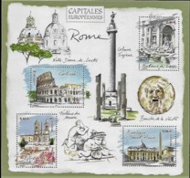 France 2002 Capitales Européennes ROME Italie, 1 Bloc Mnh - Neufs