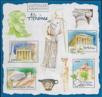 France 2004 Capitales Européennes ATHÈNES Grèce, 1 Bloc Mnh - Neufs