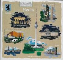 France 2005 Capitales Européennes BERLIN Allemagne, 1 Bloc Mnh - Neufs