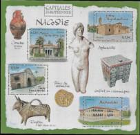 France 2006 Capitales Européennes NICOSIE Chypre, 1 Bloc Mnh - Neufs
