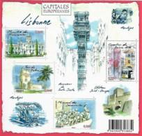 France 2009 Capitales Européennes LISBONNE Portugal, 1 Bloc Mnh - Neufs