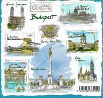 France 2011 Capitales Européennes BUDAPEST Hongrie, 1 Bloc Mnh - Neufs