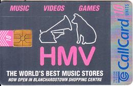 IRELAND - HMV Nusic Stores, Chip GEM1.3, 09/96, Used - Ireland