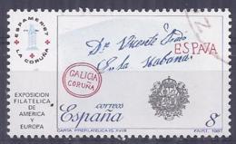 España-Spain. Exposición Filatelica (o) - Ed 2912, Yv=2529a - 1931-Hoy: 2ª República - ... Juan Carlos I