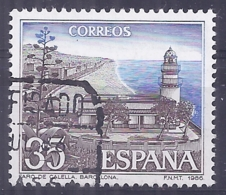 España-Spain. Faro De Calella (o) - Ed 2838, Yv=2480 - 1931-Hoy: 2ª República - ... Juan Carlos I