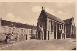 EQUIHEN - Eglise, Calvaire Et Ecole Des Filles - Sonstige Gemeinden
