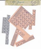 PIE-VP-RO-18-096 :  TICKETS D'ALIMENTATION. GOUVERNEMENT MILITAIRE  OFFICE FRANCAIS - Vieux Papiers