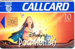 IRELAND - Disney/Pocahontas, Chip GP1, 09/95, Used - Ireland