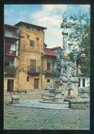 Comillas. *Fuente De Tres Caños Y Calle De Los Arzobispos* Ed. Foto Imperio. Nueva. - Cantabrië (Santander)