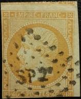 FRANCE Y&T N°16 Napoléon 40c Orange. Oblitéré Losange SP T - 1853-1860 Napoléon III