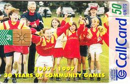 IRELAND - 30 Years Of Community Games 1967-1997, Chip GEM1.3, Tirage %50000, 07/97, Used - Ireland