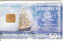 """IRELAND - Sailing Boat """"Jeanie Johnston"""", Chip ODS 3, Tirage 13000, Used - Ireland"""