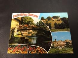 801 - CHATILLON SUR CHALARONNE Multi Vues - 1973 Timbrée - Châtillon-sur-Chalaronne