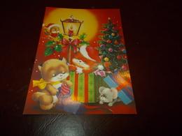 B702  Natale No Viaggiata Piega Ad Angolo - Noël