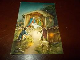 B702  Buon Natale Viaggiata Pieghine Angoli - Noël