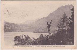 Lac D'Annecy (Hte Savoie) Le Château De Duingt - Les Dents De Lanfon Et Saint Michel - Annecy