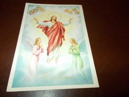 B702  Buona Pasqua Gesu Angeli Viaggiata - Pâques