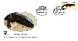Venda - 1986 Reptiles 16c Additional Value FDC # SG 131 - Venda