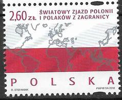 2018 Polen Mi. 5014**MNH  Weltkongress Der Auslandspolen - 1944-.... Republic