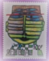 "SENEGAL ANNEE 1980 YT 525  NEUF""TETE"" - Sénégal (1960-...)"